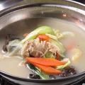 料理メニュー写真薬膳鶏鍋