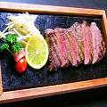 料理メニュー写真宇部(小野)黒毛和牛サーロイン石焼ステーキ