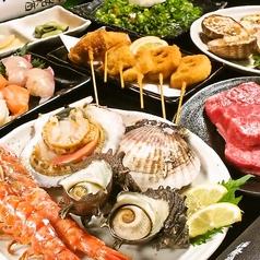 旬の肴菜 武蔵のコース写真