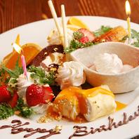 誕生日・記念日盛り上げます!