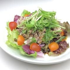 料理メニュー写真龍泉洞黒豚の豚しゃぶサラダ