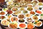 華豊人気の食べ飲み放題コースは1人3250円!100種類の逸品料理をオーダー式で楽しめる。