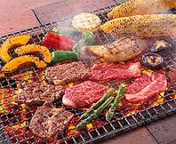 炭火焼BBQ(飲み放題付)