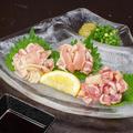 料理メニュー写真★がんこ赤鶏のユッケ/★がんこ赤鶏の刺身