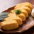 料理メニュー写真地鶏出汁巻き玉子