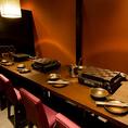 12名様個室は1部屋。会社宴会に人気です。