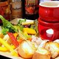 料理メニュー写真バーニャカウダ ~色々野菜とバッケトと共に~