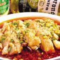 料理メニュー写真鶏の旨味ラー油漬け