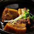 料理メニュー写真黒豚の角煮