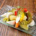 料理メニュー写真いろいろ野菜の自家製ピクルス