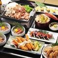 当店ならではの一品料理を始め、名古屋の名物料理や新鮮魚介を使った海鮮料理など多彩なメニューとお酒をご堪能頂ける、飲み放題付きの宴会コースを多数ご用意しております!各種ご宴会に合わせてお好きなコースをお選びください。