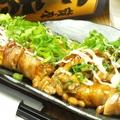料理メニュー写真豚巻納豆