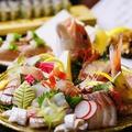 料理メニュー写真お造り夢盛りおまかせ五種