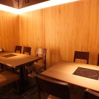 半個室20席/個室20席◆著名人もご来店する人気店
