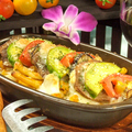 料理メニュー写真ALL¥500均一★牛タンとアボカドのトマトクリームグラタン