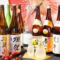 焼酎・日本酒豊富にご用意しております☆肉専用酒や魚専用酒もございます♪