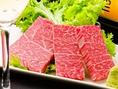 【ヒレ】1頭から3%しかとれない絶品貴重部位。脂身が少なく上品な味わい。