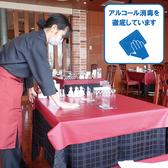 お客様がご利用するテーブルは、アルコールでの消毒を徹底し、常に清潔な状態を保つよう取り組んでおります。