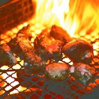 本格炭火で炙ったはかた一番どりを!
