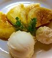 料理メニュー写真フレンチトースト&アイス