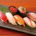料理メニュー写真にぎり寿司7貫盛合せ