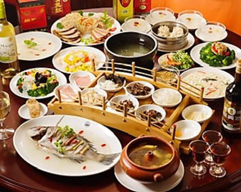 中華コース飲み放題付3,000円より!雲南伝統料理をお楽しみください!