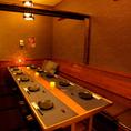 完全個室は2~30名様対応可能!!デートや、10名以下の少人数利用も個室対応なのがウレシイ♪♪和風の個室席は雰囲気抜群です!!