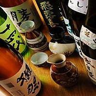 こだわり日本酒が豊富!