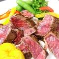 料理メニュー写真牛肉サーロインステーキ