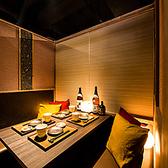 合コンやデートなどにピッタリ!他人の目が気にせずお楽しみいただける扉付きのプライベート個室空間です。新宿での親しい友達同士の飲み会や同窓会、女子会などにもうってつけ♪