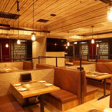 鉄板 個室 Dining 案山子 本店の雰囲気1