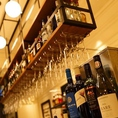 50種類もの豊富な飲み放題メニュー★ノンアルコールカクテルのご準備も致しておりますのでお酒な苦手なゲストの方にも安心です!