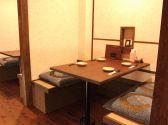4名様用のテーブル席×2