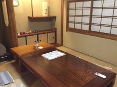 2階4から6名様ご利用可能です。会社宴会、友人との集まりなど各種ご宴会に。