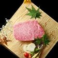 料理メニュー写真特選牛サーロインステーキ