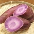【京都府/亀岡】渡辺さん、他の長期熟成!『パープルスイートロード』!熟成させることで紫芋の中でトップクラスの甘味がありまう。