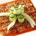 料理メニュー写真豚肉のニンニクソース