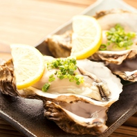 旬の魚介類を使用した海鮮料理が自慢!