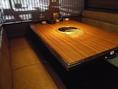 ゆったりしたテーブル席☆
