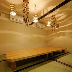 2部屋を繋げれば最大12名様まで可能なお座敷タイプの個室