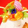 料理メニュー写真コンコンブル特製サラダパフェ