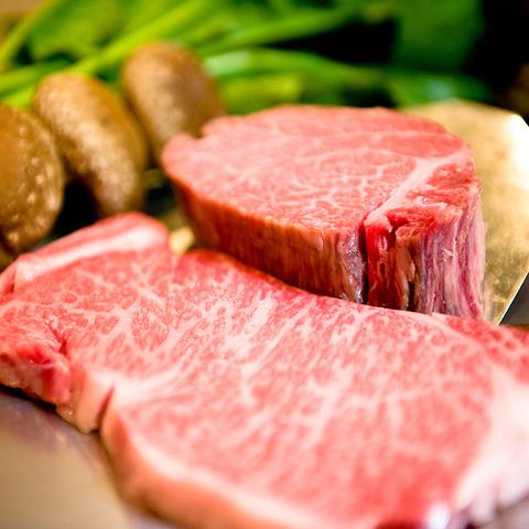 厳選されたお肉と海鮮… 本格的な鉄板焼が楽しめます。