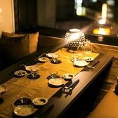 【中人数個室】6名、8名、10名…などでご利用頂ける、知ってて得する個室も多数完備。会社飲み会や懇親会など様々なシーンに対応。