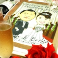結婚式二次会や貸切パーティもお店がフルサポート!◆パーティ特典例1:ウェルムボード作成