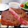 牛リブロースステーキコース (180g)