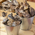 牡蠣食べ放題1980円!!「一年中新鮮で美味しい牡蠣を味わえる」と話題の播磨灘産牡蠣を使用しています。