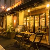 大人気のテラス席は5卓ご用意♪時期に春や秋には開放致します。晴れた日に外で食べるランチは気持ちがいいですよ!