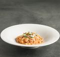 料理メニュー写真モッツァレラチーズのトマトクリームソース