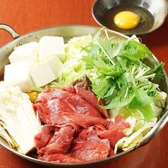 馬すき焼き鍋
