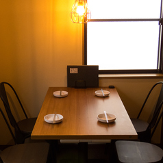 【2~4名様テーブル♪】女子会・誕生日会・韓流オフ会・お買いものの休憩にと幅広くお使いいただけます☆